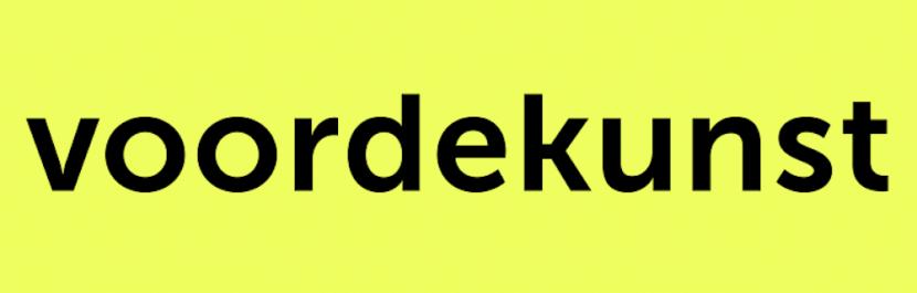 Logo crowdfundingplatform Voordekunst