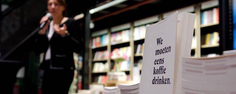 Boekpresentatie We moeten eens koffie drinken Eindhoven